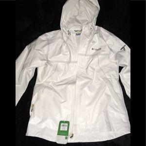 Columbia Titanium White Out Dry Hoodie Men's sz LG